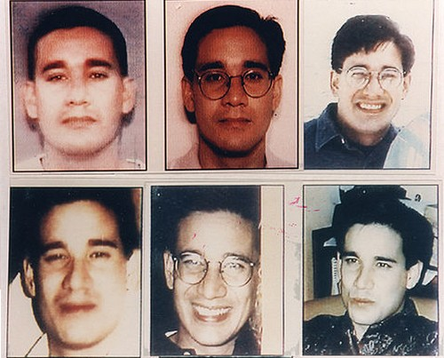 Andrew Phillip Cunanan FBI pictures