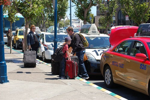 taxi san francisco luggage