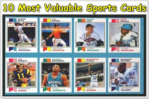 most expensive sports cards