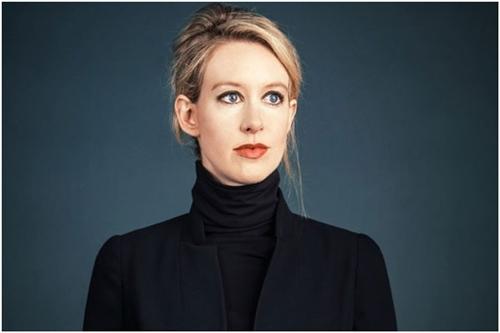 Elizabeth Holmes- most successful businesswomen