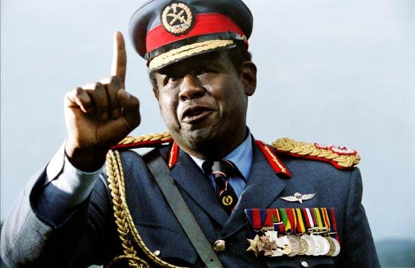 Meanest Dictators Idi Amin Dada