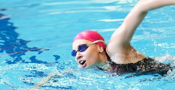 Swimming to lose body fats