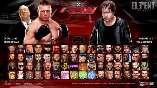 WWE video games WWE 2k16