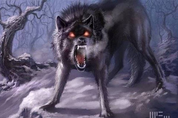 Dire Wolf Top 10 Mythical Creatures