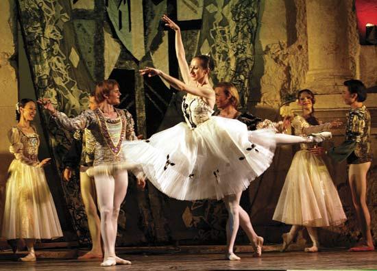 ballet was danced by men