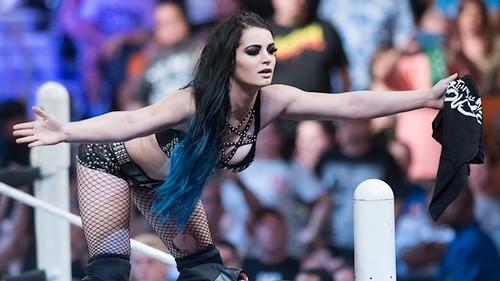 Brie Bella at WrestleMania 32