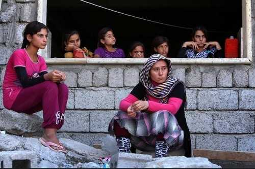 ISIS has slaves that are mostly women and children