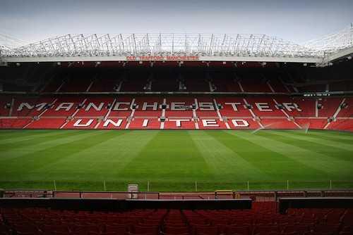 Old Trafford inside