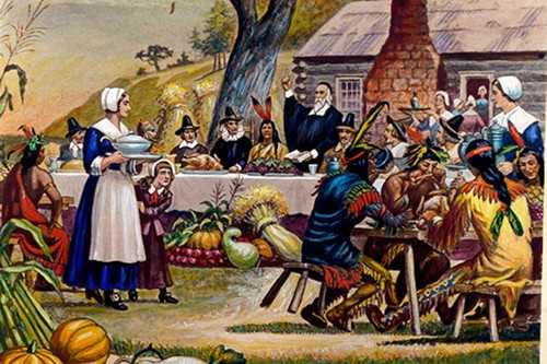Thanksgiving has its history of evolution