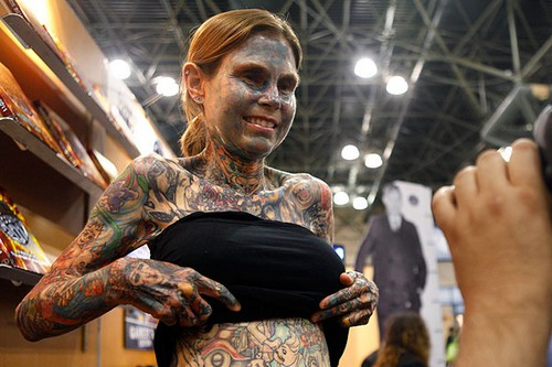 Most Tattooed Woman On Earth