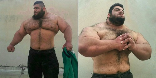 Sajad Gharibi (The Iranian Hulk)
