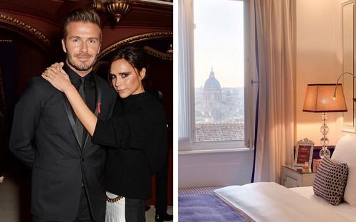 Hotel Hassler – Victoria & David Beckham