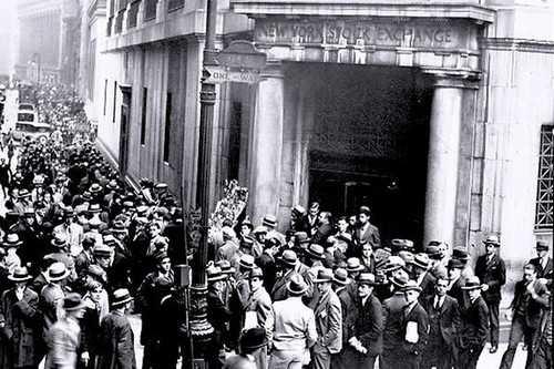 The 1929 Wall Street Crash