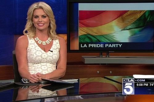 Courtney Friel Hottest News Anchors