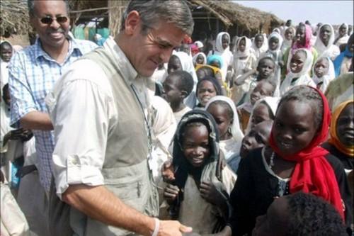 George Clooney Humanitarian Work
