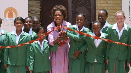 Oprah Winfrey Humanitarian Work