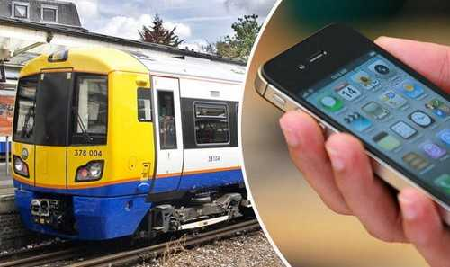 Charging Your Phone on a Train