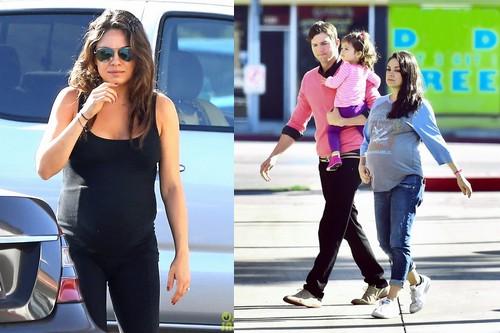 Mila Kunis hottest celebrity moms