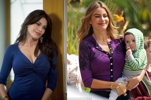 Sofia Vergara hottest celebrity moms