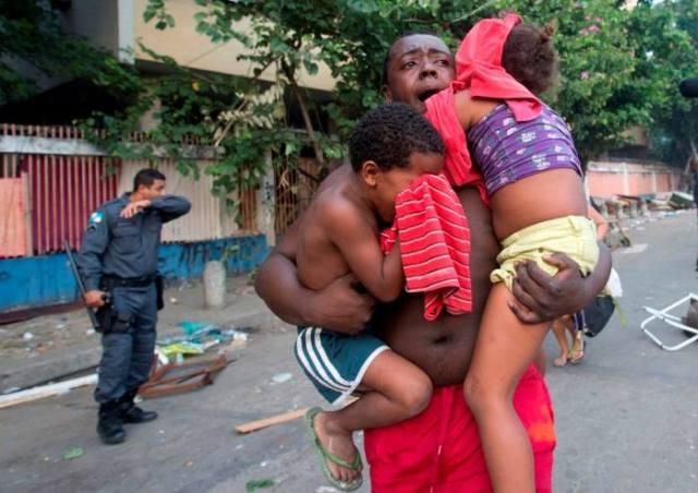 Brazil Police Force Brutality