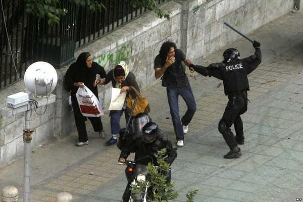 Iran police brutality