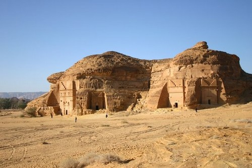 Madain Saleh Saudi Arabia