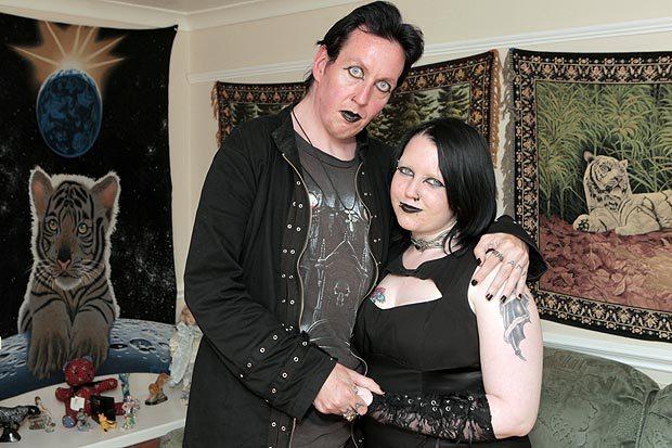 Lia and Aro (Vempire Couple)