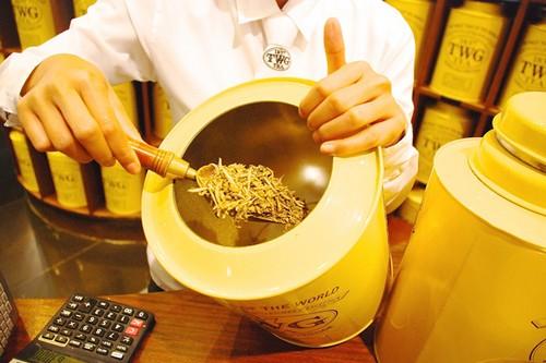 Yellow gold tea buds