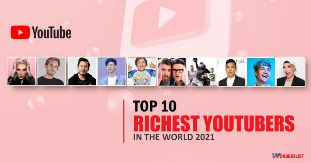 richest youtuber in the world 2021