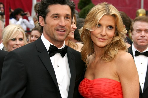 Patrick Dempsey With Wife Jillian Fink