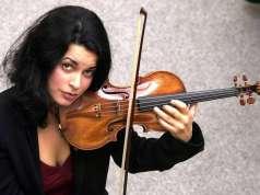 Priya Mitchell plays the Lady Tennant violin
