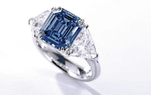 Blue Diamond Ring $10 million