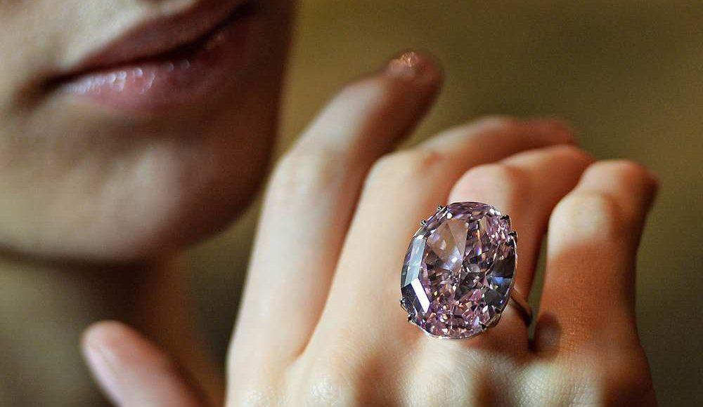 Pink Star Diamond Ring