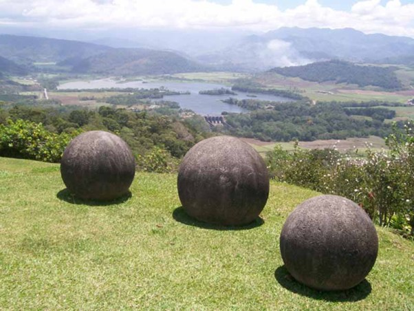 the giant stone balls of costa rica world mysteries