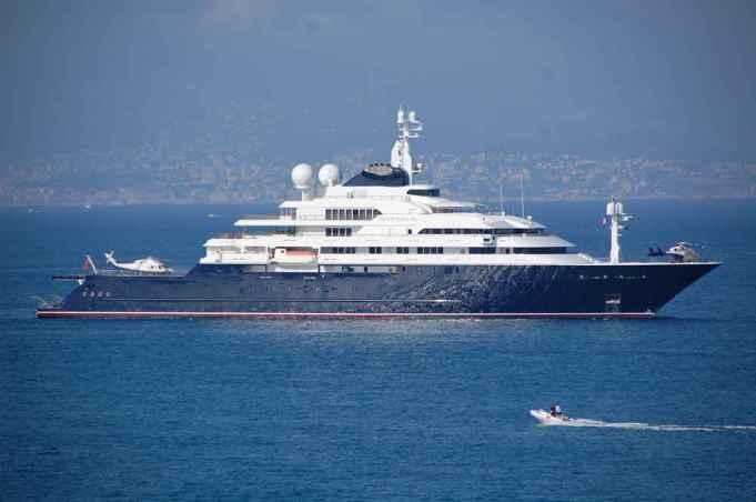 long superyacht owned by Sheikh Mohammed bin Rashid Al Maktoum