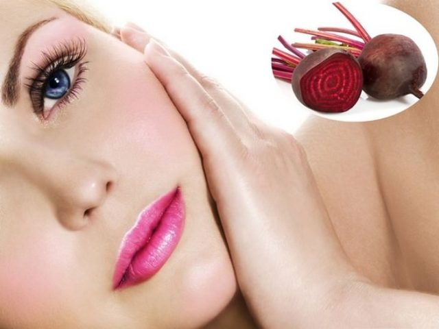 Beetroot Juice for Pink Lips