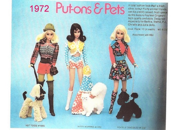 Vintage Put-Ons And Pets Kitty Kapers