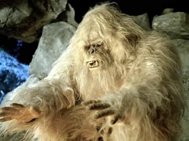 Yeti Scariest Monsters
