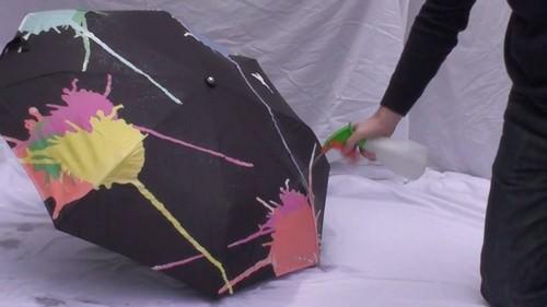 Hydrochromic Umbrella
