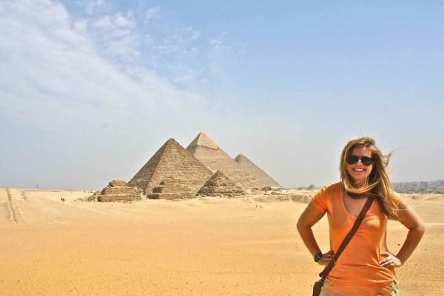 Trip to Giza Pyramids