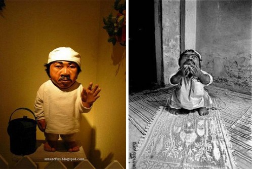 Gul Mohammed smallest man