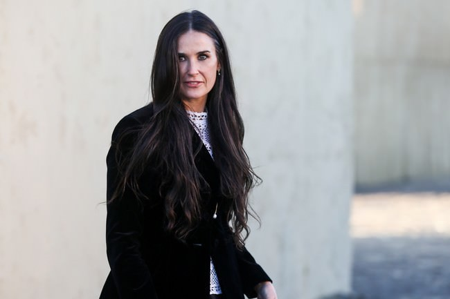 Demi Moore Hollywood Aged Celebrities
