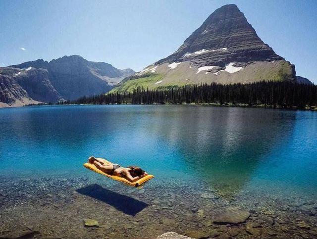 Flathead Lake, Montana USA