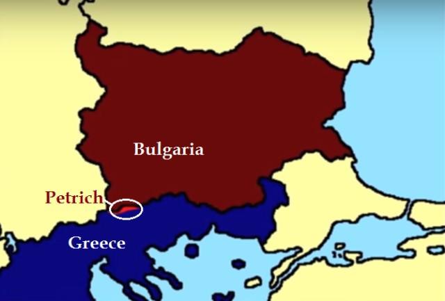 Bulgaria-Greece war