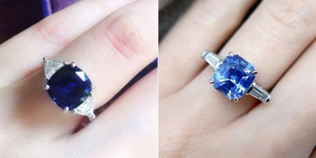 Gemstone Classic Engagement Rings