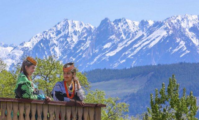 Kalash Girls of Birir Valley