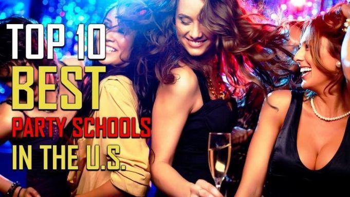 Top 10 Party Schools of 2020