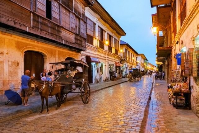 Vigan City in the Philippines