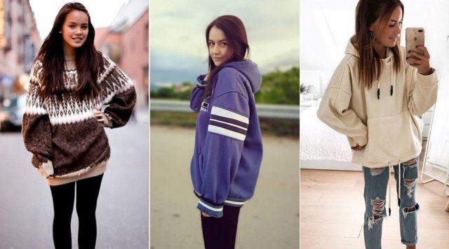 Oversized Clothing for teenage girl 2020