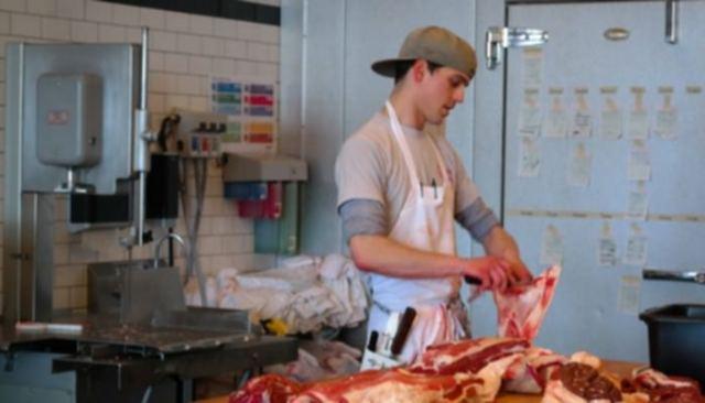 Butcher world's worst professions